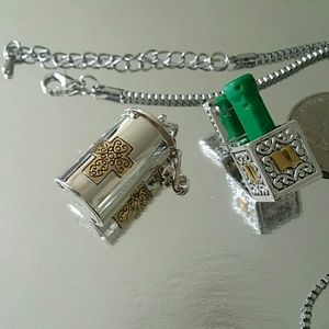 Accessories - necklace pill case wish box  pray unisex magnetic